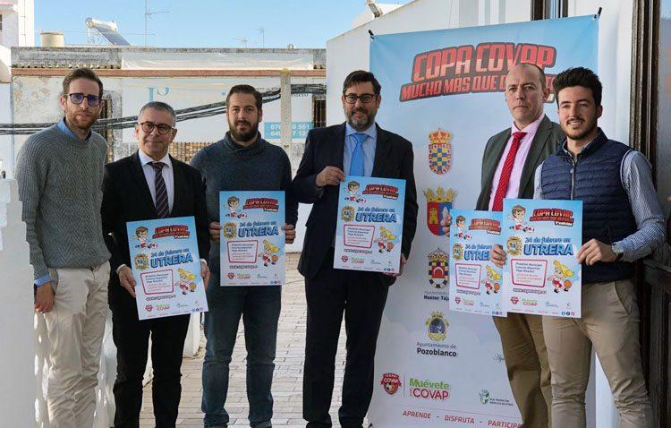 Utrera se presenta como sede de la copa Covap en la provincia de Sevilla