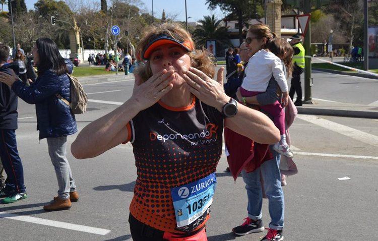 El Club Deporteando por Utrera, en la maratón de Sevilla