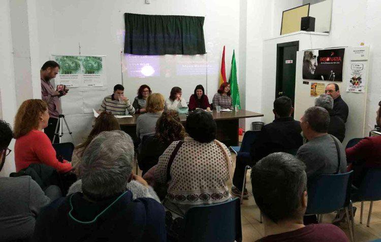 Una mesa redonda de Podemos, el Partido Comunista y Equo como antesala a la huelga feminista del 8 de marzo