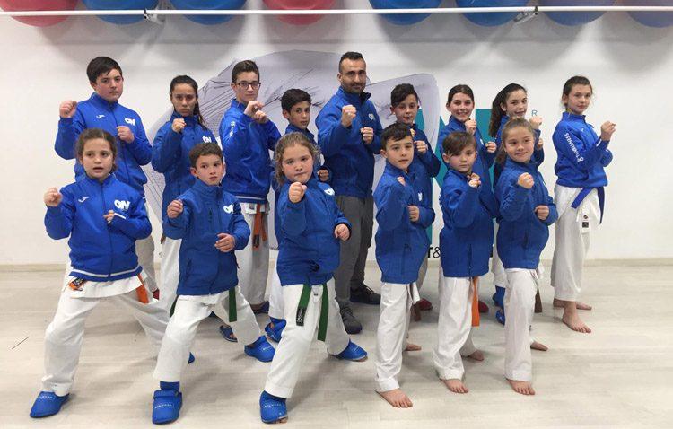 El club de karate «ON Sport&Wellness» triunfa en el Campeonato de Andalucía Infantil de Karate