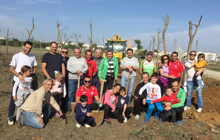 Legiones de Leptis celebra sus 20 años de vida con una exposición y una «macroplantación» de árboles