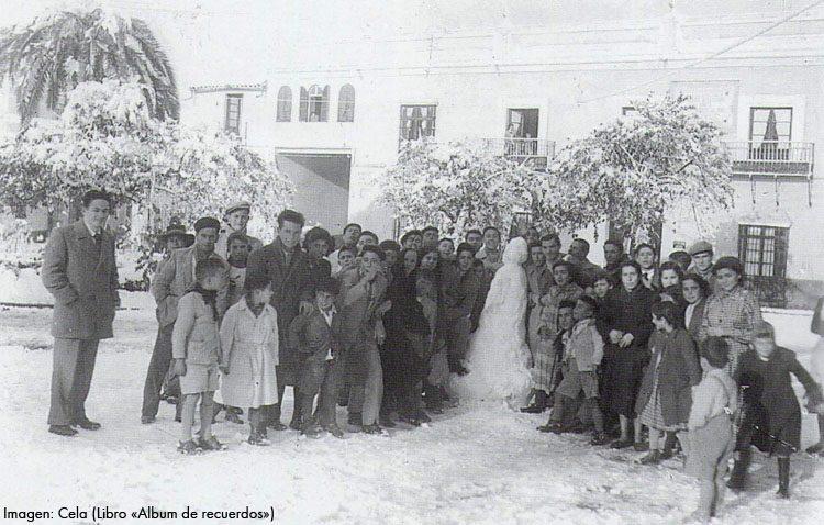 3 de febrero de 1954: un día para la memoria de Utrera con su histórica nevada (IMÁGENES)