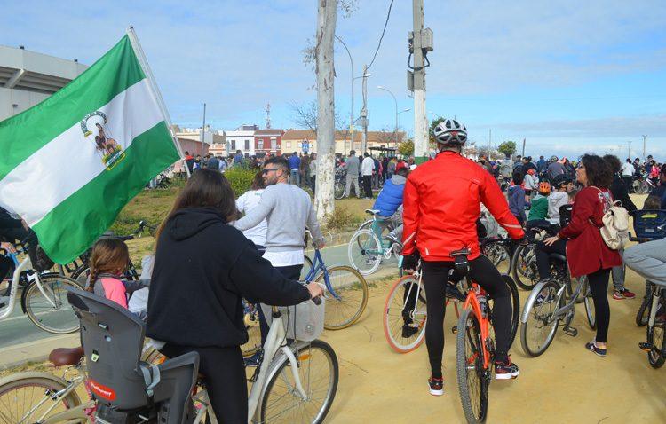 El día de Andalucía volverá a llenar Utrera con miles de bicicletas