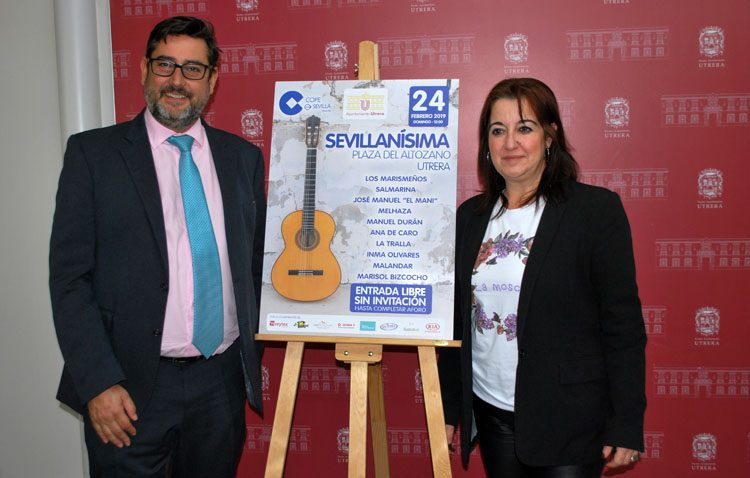 Música de la tierra en la gala «Sevillanísima» que visita de nuevo Utrera