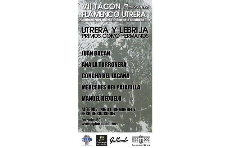 El «Tacón Flamenco» comienza  con el espectáculo «Utrera y Lebrija – primos como hermanos»