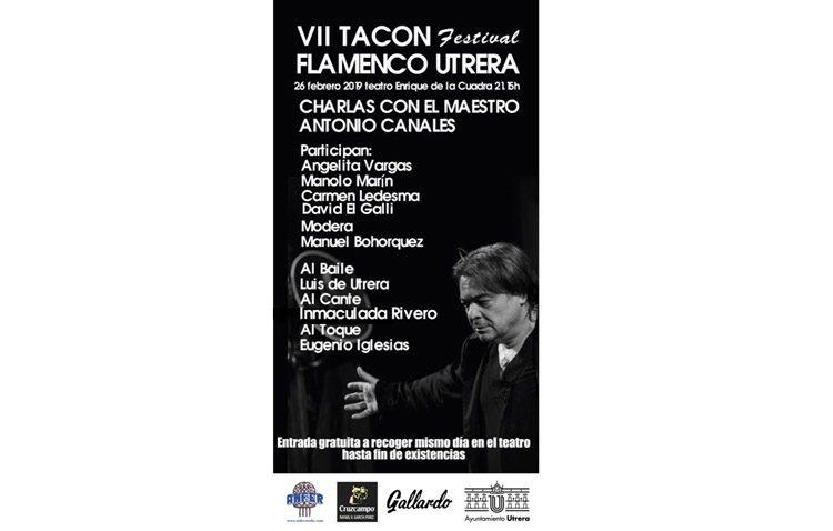 Una mesa redonda con Antonio Canales en el ecuador del «Tacón Flamenco»