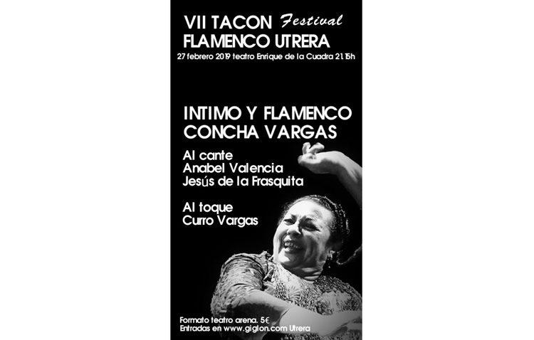 El «Tacón Flamenco» ofrece este miércoles un espectáculo de la bailaora Concha Vargas
