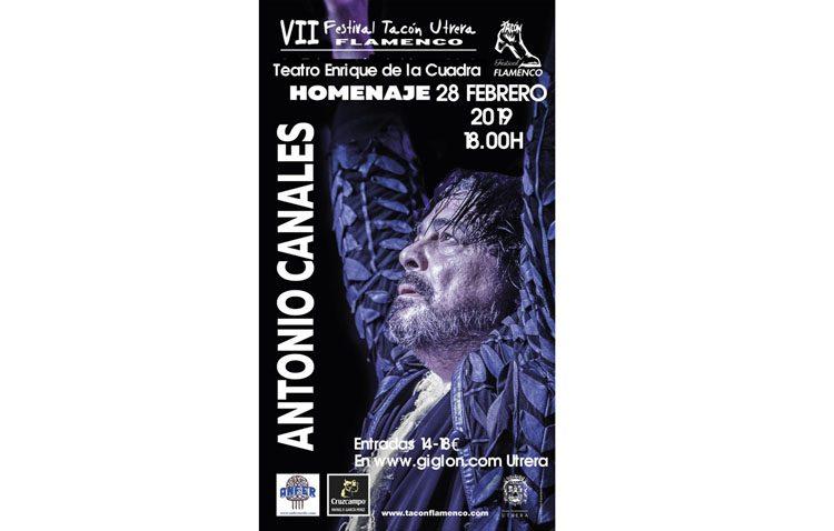 Una treintena de artistas para rendir homenaje en Utrera al bailaor Antonio Canales