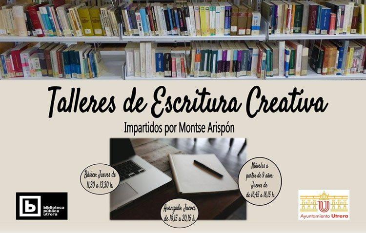 Un nuevo taller de escritura creativa en la biblioteca de Utrera
