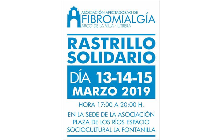 La asociación de fibromialgia organiza un rastrillo solidario