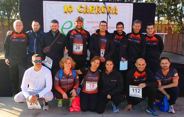 Intensa actividad del club «Deporteando por Utrera»