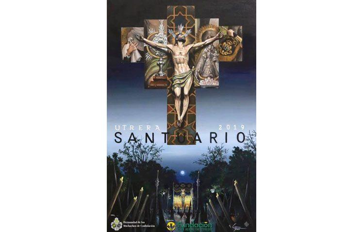 Una pintura cargada de simbología para el cartel «Santuario»