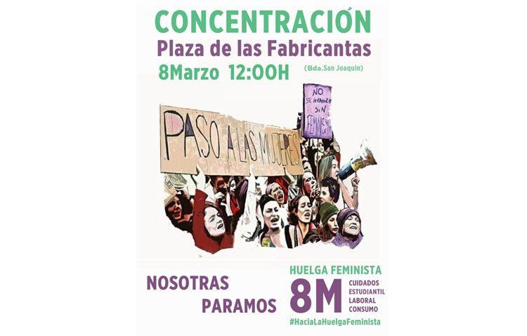 La confluencia de Podemos y PCA instan al Ayuntamiento de Utrera a «garantizar el derecho de huelga» por el Día de la Mujer