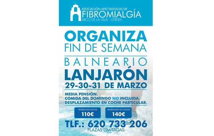La asociación de afectados de fibromialgia organiza un viaje a un balneario en Lanjarón