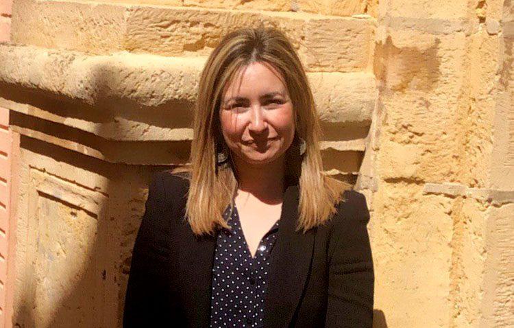 La utrerana Isabel González Blanquero, número 5 de la lista de Ciudadanos por Sevilla al Congreso de los Diputados