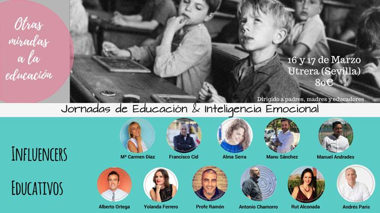 Utrera acoge unas jornadas sobre educación e inteligencia emocional con prestigiosos participantes a nivel nacional