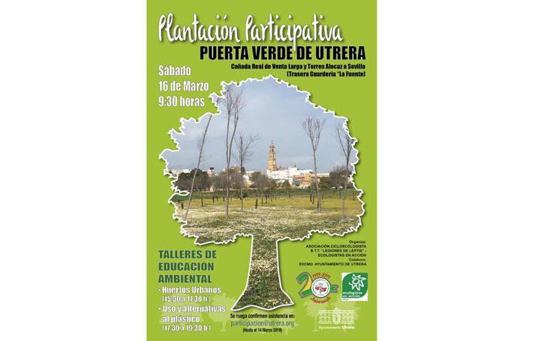 Una plantación participativa en Utrera por el vigésimo aniversario de «Legiones de Leptis»