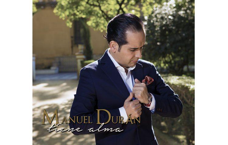 El cantante utrerano Manuel Durán ultima el lanzamiento de su nuevo disco