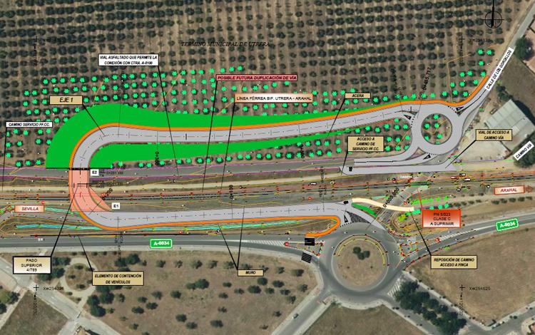 Luz verde al anteproyecto del puente para eliminar el paso a nivel del camino de La Espiritista