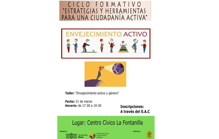 Un taller en Utrera sobre «Envejecimiento activo y género»