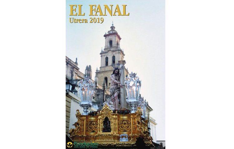 La tertulia «El fanal» presenta su cartel cofrade, protagonizado por el Señor Atado a la Columna junto a la torre de Santa María