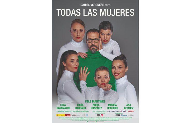 Fele Martínez llega al teatro de Utrera con «Todas las mujeres»