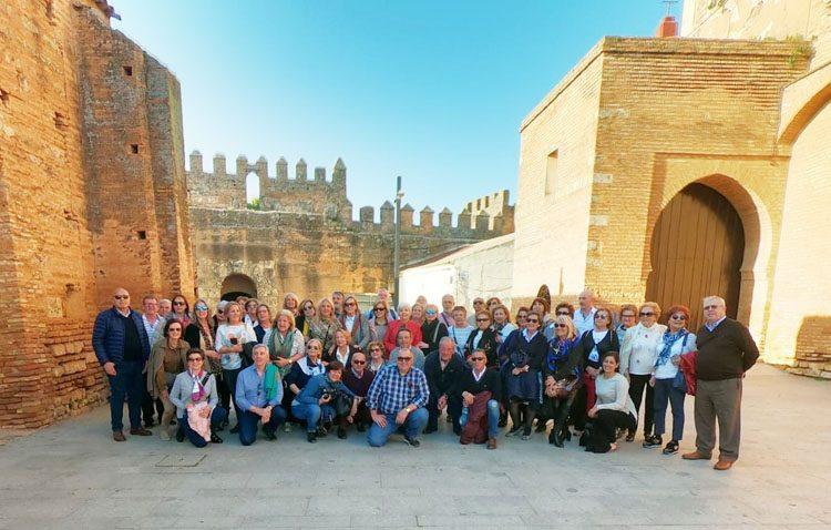 Más de medio centenar de «Amigas del Casino» descubren varios rincones de la provincia de Huelva