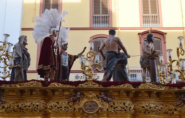 La Vera-Cruz incorporará este Sábado Santo el paso del Señor Atado a la Columna al cortejo del Santo Entierro