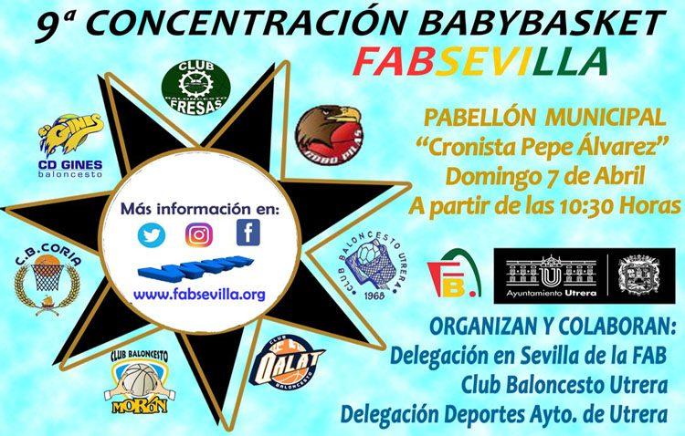 La IX concentración de «Babybasket» llega a Utrera