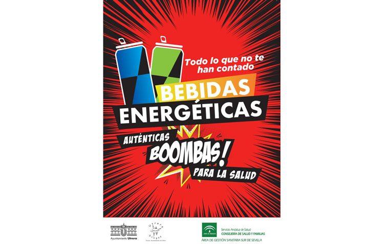 Una campaña alertará en Utrera sobre los riesgos de las bebidas energéticas para la salud