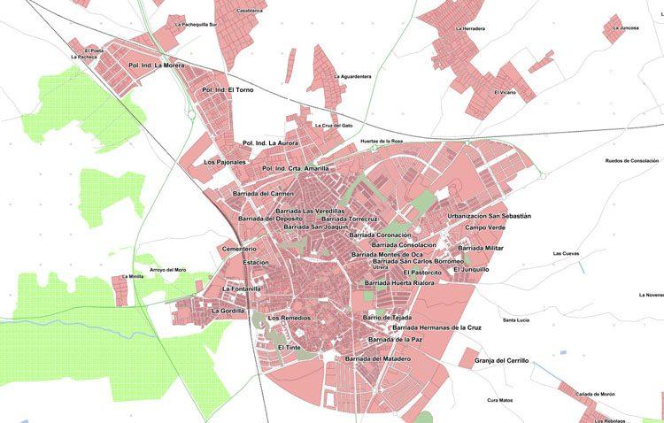 La ciudad de Utrera, presente en el nuevo callejero digital unificado de Andalucía
