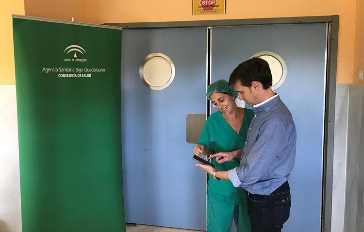 Una «app» para facilitar a los pacientes la preparación previa a las intervenciones quirúrgicas en el hospital de Utrera