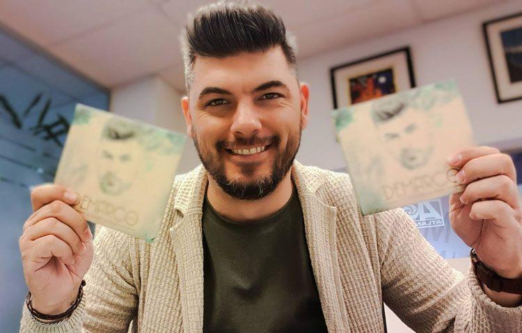 El cantante utrerano Demarco Flamenco lanza al mercado su segundo disco (VÍDEO)