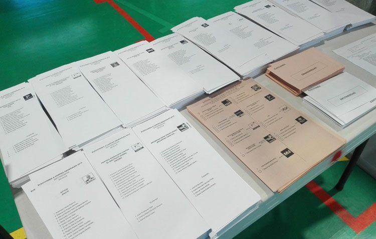 El PSOE gana en Utrera las elecciones generales