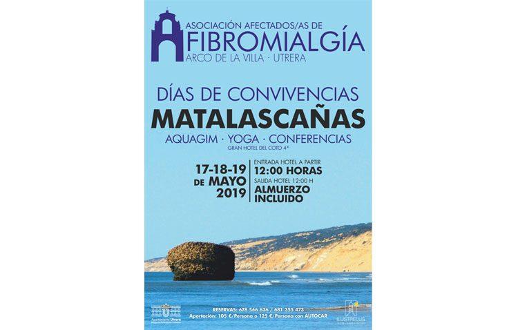 La asociación de afectados de fibromialgia organiza un viaje a Matalascañas con varias actividades