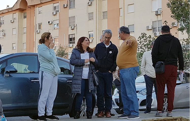 «Juntos por Utrera» denuncia el «abandono» de la barriada Campoverde