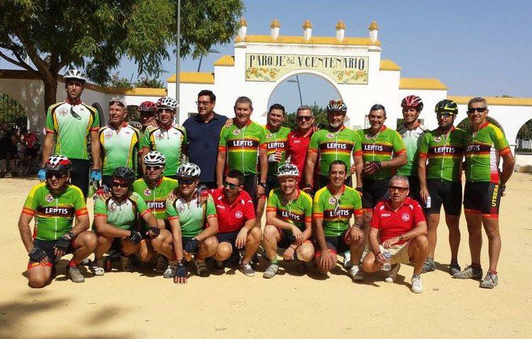 Legiones de Leptis participa de manera especial en el «Día Metropolitano de la Bicicleta»