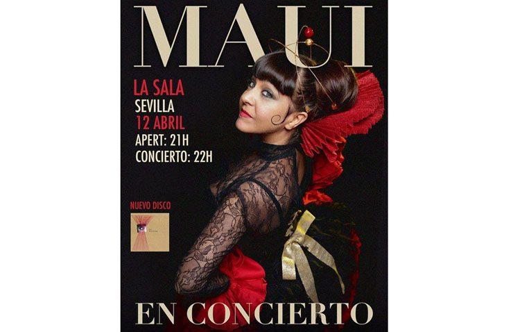 La cantante utrerana Maui presenta en Sevilla su nuevo disco