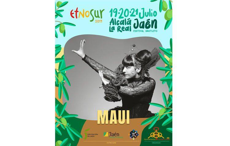 La artista utrerana Maui estará presente en el conocido festival «Etnosur»