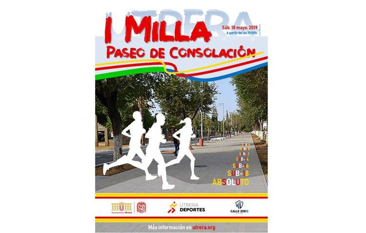 El paseo de Consolación será punto de encuentro para los amantes del atletismo con la celebración de una milla