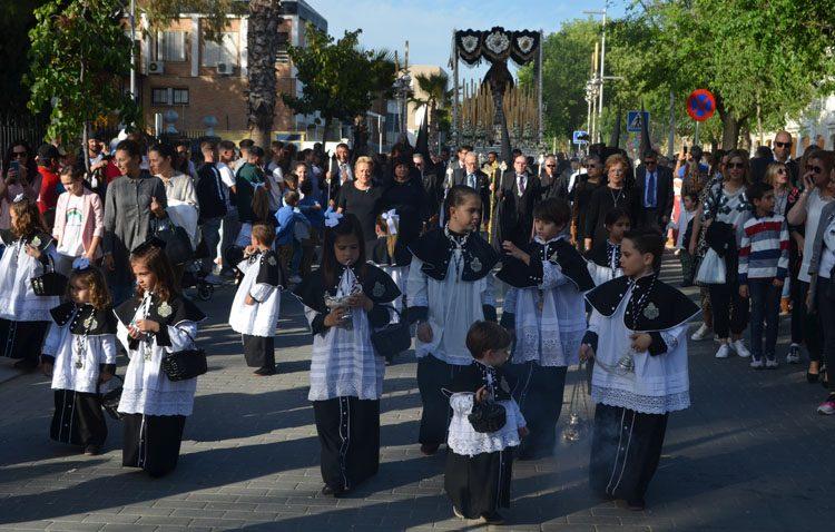 Un Lunes Santo repleto de convocatorias por la estación de penitencia de los Muchachos de Consolación