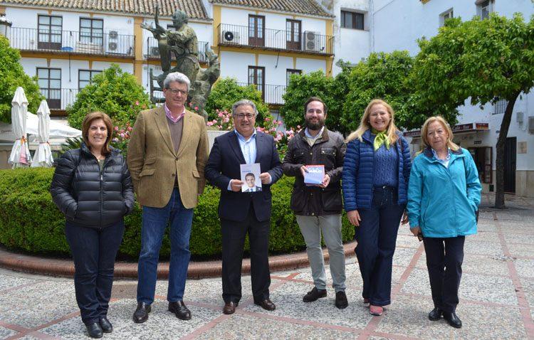 Juan Ignacio Zoido y Ricardo Tardo piden en Utrera que «se olviden las ideologías y se vote al PP por la unidad de España»