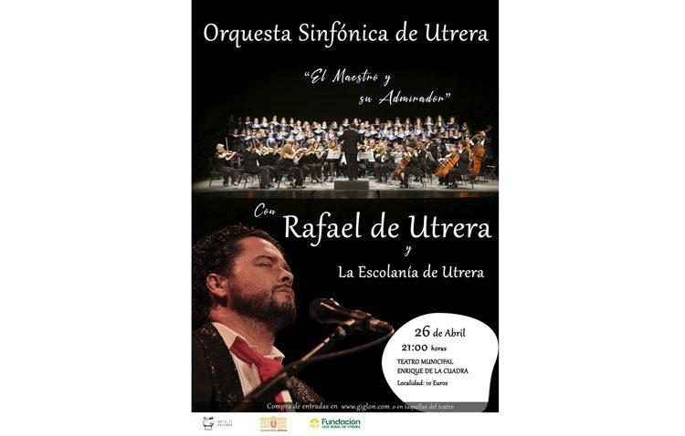 La Orquesta Sinfónica de Utrera, en concierto junto a Rafael de Utrera y la Escolanía de Utrera