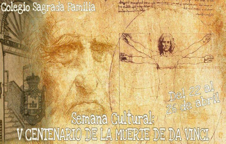 Una semana cultural en el colegio Sagrada Familia en torno a Leonardo da Vinci