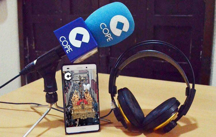 «El transistor cofrade» comienza sus retransmisiones en directo en COPE Utrera (98.1 FM)