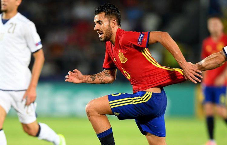 El futbolista utrerano Dani Ceballos liderará la selección sub 21 en el próximo europeo