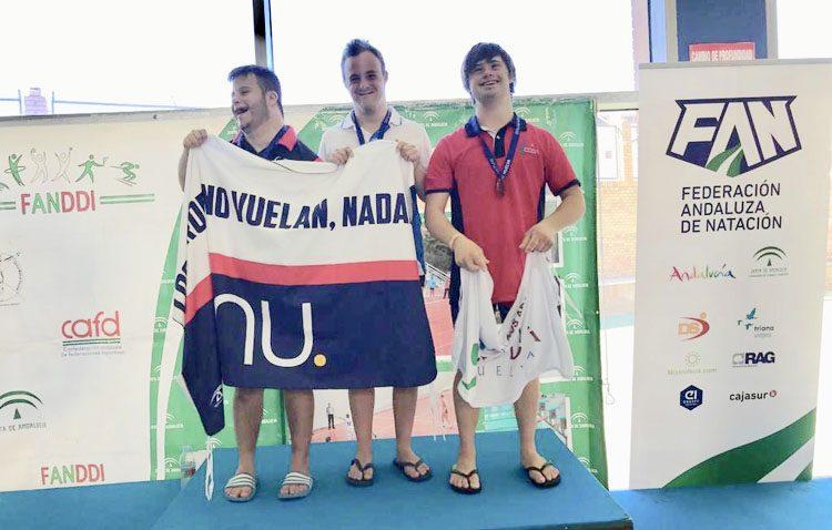 La natación adaptada utrerana, protagonista en el campeonato andaluz de discapacidad intelectual