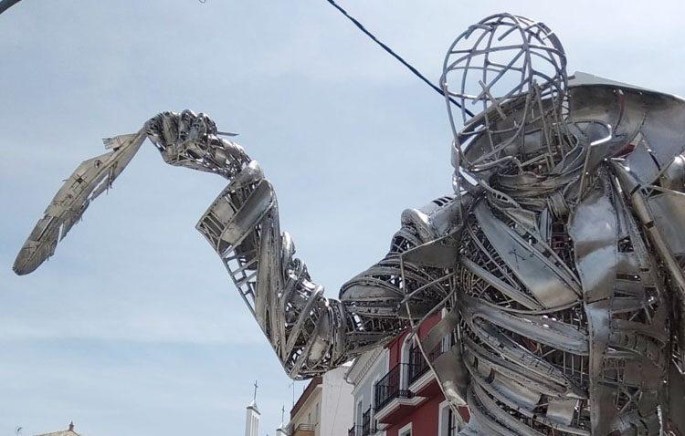 El monumento del Abate Marchena tendrá cámaras de videovigilancia tras sufrir ya un acto vandálico