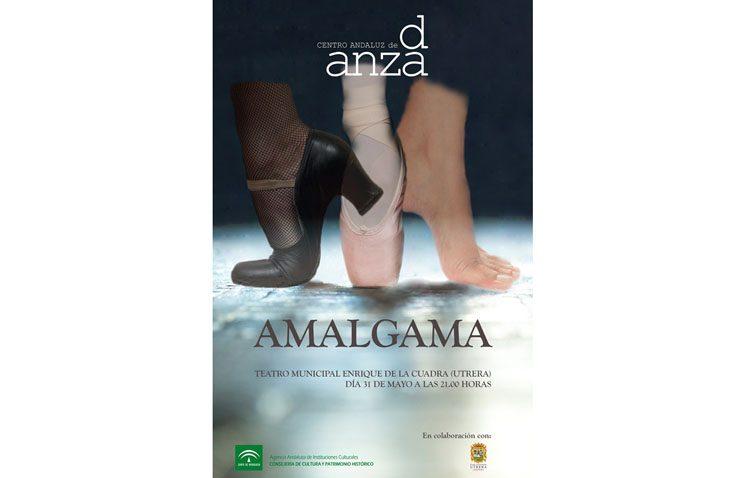 Un espectáculo del Centro Andaluz de Danza en el teatro de Utrera