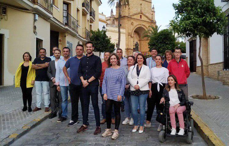 Ciudadanos defiende «el gran compromiso» de los miembros de su candidatura para las elecciones de Utrera